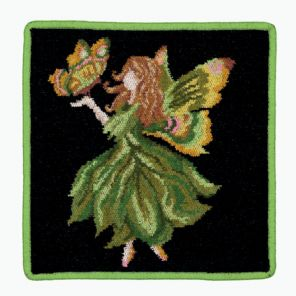 Feiler Fairy Washcloth - Green